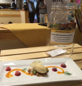 2016 Winning Dish by St. Michael's College - excited to see what kind of dishes our creative chefs come up with this year!