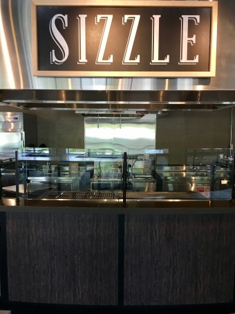 One of the many new stations - Sizzle!